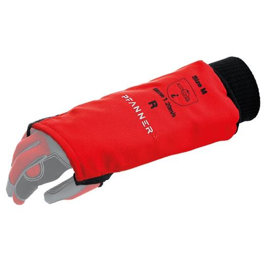 équipement de protection des bras contre la scie à chaîne